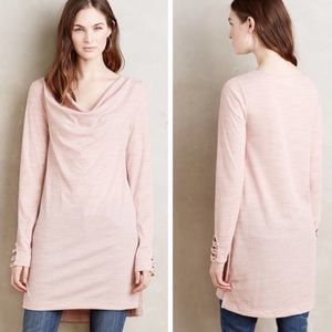 Anthropologie Pure + Good Pink Tunic